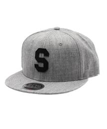 Burner(バーナー)の【THE STRAIT(ストレイト)】LETTER SNAPBACK CAP(キャップ)