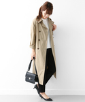 URBAN RESEARCH DOORS WOMENS | mizuiro-ind trench coat(トレンチコート)