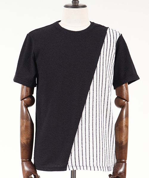 mt4786-ACANTHUS×ANGENEHM Pattern Switch Pile Tee Tシャツ