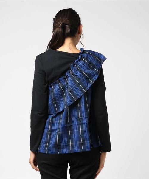 【LIEN】ビスチェ付き長袖Tシャツ
