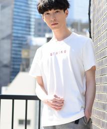 ミニマムロゴ刺繍Tシャツ