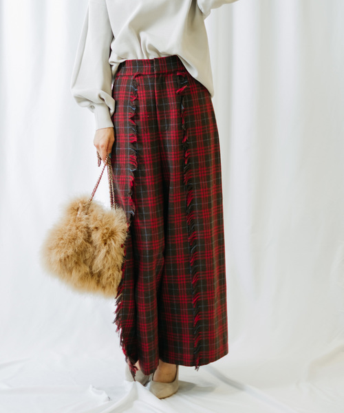 【ご予約品】 チェックラップワイドパンツ(パンツ)|Re.Verofonna(ヴェロフォンナ)のファッション通販, リベルタヴィラ:0b156d5c --- bebdimoramungia.it