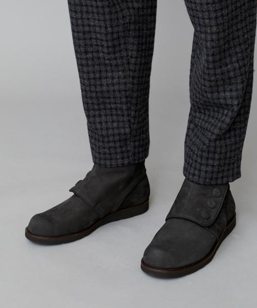 ファッションなデザイン POROMIES BOOTS ( NUBUCK LEATHER LEATHER )(ブーツ) ( BOOTS|TROVE(トローヴ)のファッション通販, お宝屋:1b73a1aa --- calligraphyindia.com