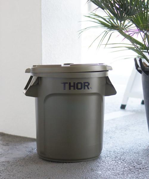 THOR Round Container ソー ラウンドコンテナー 38L フタ付き