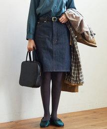 fig London(フィグロンドン)のdenim mini SK(デニムスカート)