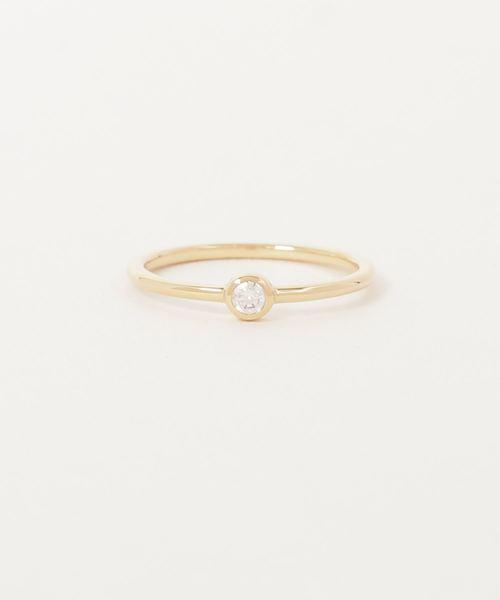 c101bd6ae4 ete bijoux(エテビジュー)のK18 ダイヤモンド リング「ブライト」(リング)