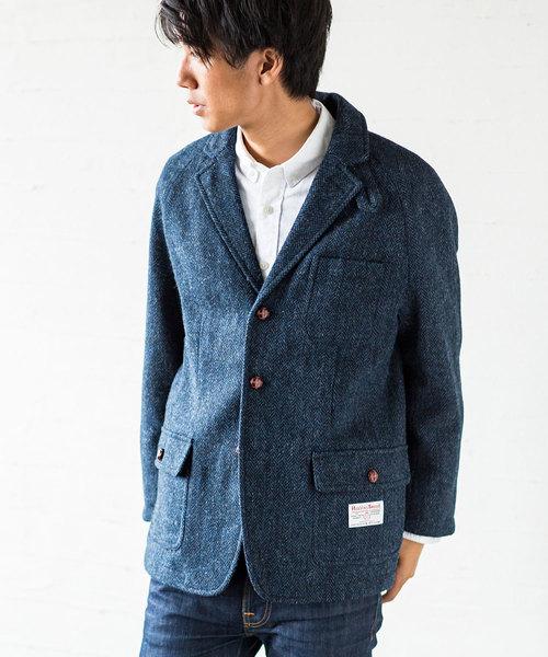 大人気新作 シューティングジャケット HARRIS 2018(テーラードジャケット)|HARRIS TWEED(ハリスツイード)のファッション通販, joyjoymarket:120fd3bd --- ulasuga-guggen.de