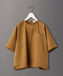<6(ROKU)>FAKE SUEDE TOPS/ブラウス