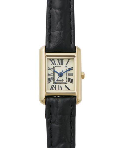 ファッション ヴィーダプラス VIDA+/ VIDA+ Mini WATCH Rectangular Rectangular J83904 LE-BK(腕時計)|VIDA+(ヴィーダプラス)のファッション通販, 因島市:b3130b5e --- pyme.pe