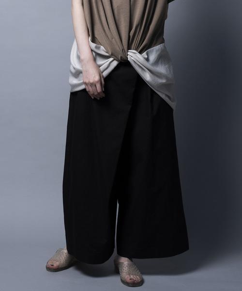 送料無料 WRAP PATNS/ラップパンツ(パンツ)|mintdesigns(ミントデザインズ)のファッション通販, フクオカシ:9bfa6cde --- 5613dcaibao.eu.org