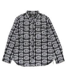 HYSTERIC PRIDE総柄 長袖ワークシャツ