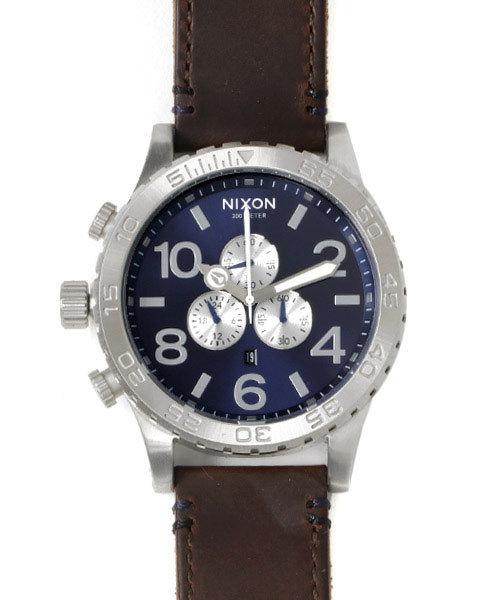 高い素材 THE 51-30 CHRONO 51-30 LEATHER(腕時計)|NIXON(ニクソン)のファッション通販, ビッグアメリカンショップ西条:e2ae026a --- fahrservice-fischer.de