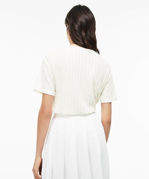 レーヨンクルーネックTシャツ (半袖)
