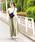 BAYFLOW(ベイフロー)の「コットンリネンエスカルゴマキシスカート(スカート)」|詳細画像