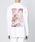 JUHA(ユハ)の「'TEXTURE' PRINT T-SHIRT(Tシャツ/カットソー)」|ホワイト