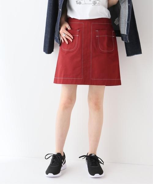 【期間限定特価】 【セール セール,SALE,SLOBE】MAISON KITSUNE CONTRASTED CONTRASTED KITSUNE ミニスカート(スカート) SLOBE IENA(スローブイエナ)のファッション通販, サンデーハウス:5d22f0a9 --- 888tattoo.eu.org