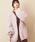 natural couture(ナチュラルクチュール)の「ミドルボアブルゾン(ブルゾン)」 ピンク