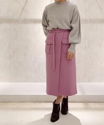 BANNER BARRETT(バナーバレット)のオープンタイトスカート(スカート)