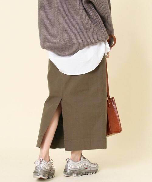 モールスキンタイトスカート