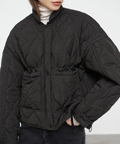 【Fano Studios】【2021AW】Stand collar short quilted down blouson FD20M035