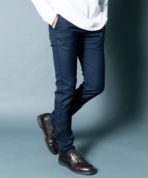 【現品限り一斉値下げ!】 T/VISCOSE STRETCH SKINNY CHINO PANTS:ヴィスコース STRETCH ストレッチ スキニーチノパンツ(チノパンツ) Magine(マージン)のファッション通販, 鴬沢町:1ed143d2 --- rise-of-the-knights.de