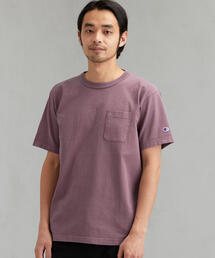 [チャンピオン]SC CHAMPION T1011 US ポケット Tシャツ †