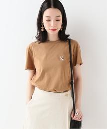 SLOBE IENA(スローブイエナ)のMAISON KITSUNE  HEAD PATCH Tシャツ(Tシャツ/カットソー)