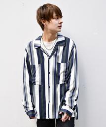 kutir(クティール)の【ビッグシルエット】オープンカラーシャツ(シャツ/ブラウス)