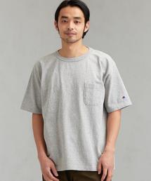 [チャンピオン]SC CHAMPION T1011US ポケット Tシャツ G †