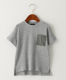 〔吸水速乾〕ドライワッフルポケットTシャツ
