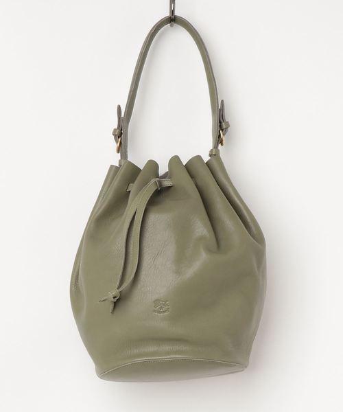 【正規取扱店】 IL BISONTE / SHOULDER BAG /19SS, ウラカワチョウ f83cc748