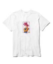 【F-LAGSTUF-F】GOKU Tee/×ドラゴンボール/悟空ティー/19AW-FS×DB-06(Tシャツ/カットソー)