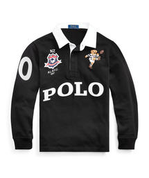 Polo Ralph Lauren Childrenswear(ポロラルフローレンチャイルドウェア)のニュージーランド ベア コットン ラグビーシャツ(ポロシャツ)