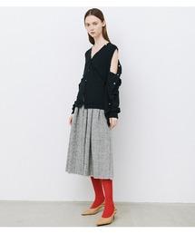 LE CIEL BLEU(ルシェルブルー)のCheck Flare Skirt(スカート)