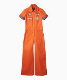 ジャンプスーツオレンジ