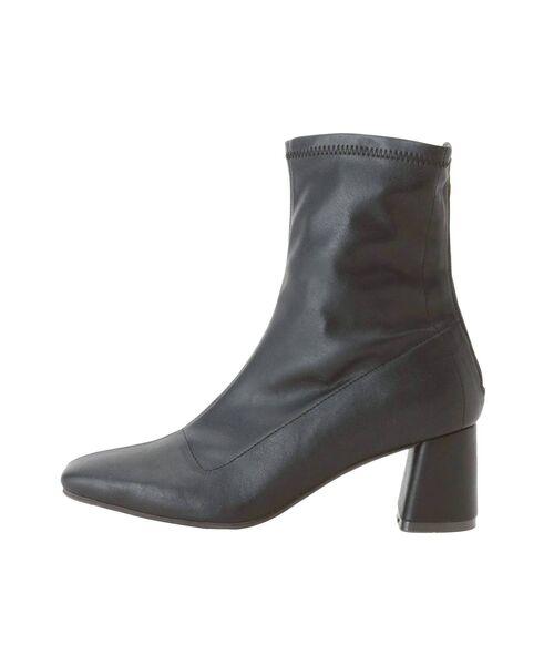 Ungrid(アングリッド)の「ストレッチフィットブーツ(ブーツ)」 ブラック