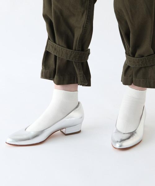 靴下屋(クツシタヤ)の「靴下屋/ ベタショートソックス(ソックス/靴下)」|オフホワイト