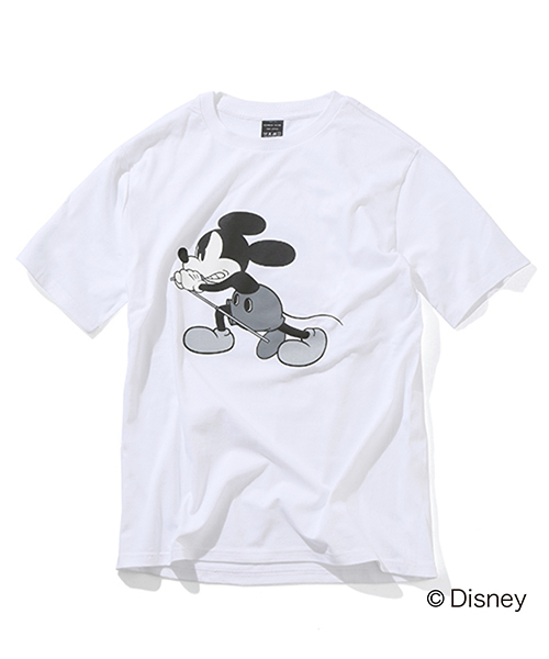 EXCLUSIVE_NUMBER (N)INE MICKEY MOUSE_T-SHIRTS_NN#2 Disney(ディズニー)