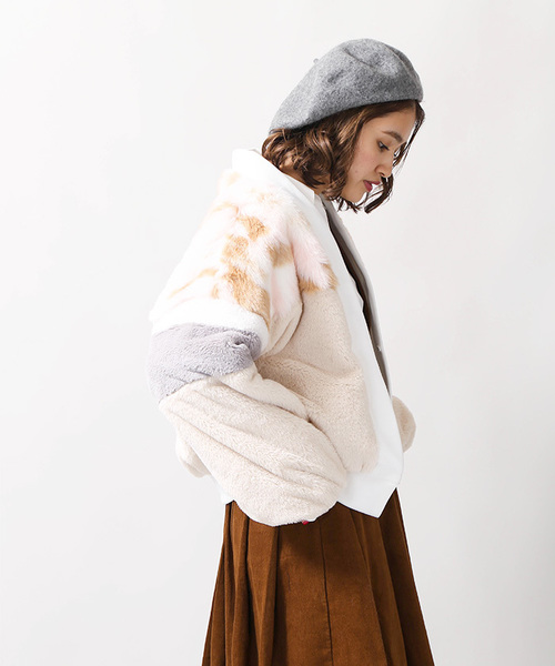 WEGO/MIXファー切替コート