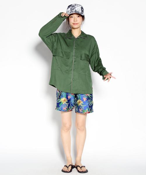 豪奢な Tencel Wide Shirt(シャツ/ブラウス)|ALDIES(アールディーズ)のファッション通販, SWAMI:1ab2f0a4 --- fahrservice-fischer.de
