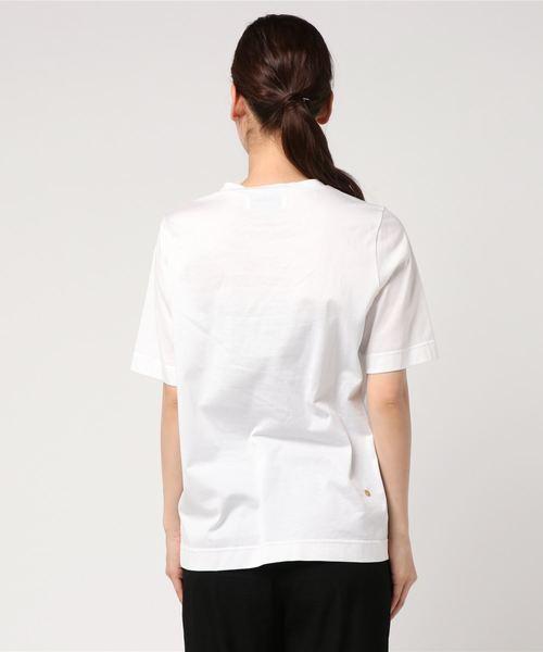 【MUVEIL】サソリ刺繍Tシャツ MA81UTS017