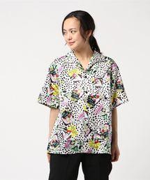 FEELI'N HYSTERIC総柄 半袖ビッグシャツ