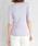 Pierrot(ピエロ)の「VネックorUネック選べる 半袖綿混サマーリブニット(ニット/セーター)」|詳細画像