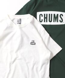 FREAK'S STORE(フリークスストア)のWEB限定 CHUMS×FREAK'S STORE/チャムス 別注ブービーフェイス ワンポイントロゴ Tシャツ(Tシャツ/カットソー)