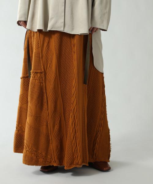 最安値挑戦! ケーブルマキシスカート, 愛する下着たち!ビーハーツ ab2a3f29