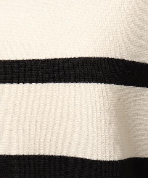 UNTITLED(アンタイトル)の「【洗える】ミラノウールボートネックニット(ニット/セーター)」|詳細画像