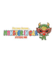 HYSTERIC MINI(ヒステリックミニ)の「MONSTER IN CAR STICKER(外貼り)(ステッカー/テープ)」