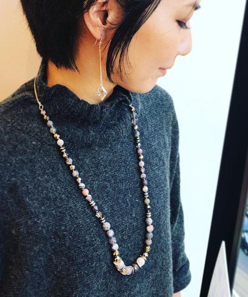 【税込】 ストーンクリスタル LUU ネックレス CHAN NS-13801(ネックレス)|CHAN LUU(チャンルー)のファッション通販, アフリカタロウネットショップ:36b1b37a --- wm2018-infos.de