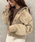 apres jour mignon(アプレジュールミニョン)の「コーデュロイポケットブルゾン【ZOZOTOWN限定アイテム】(ブルゾン)」|詳細画像