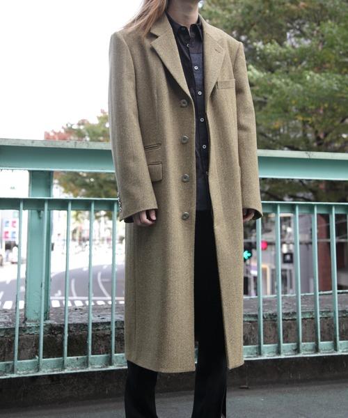【ふるさと割】 JOHN LAWRENCE MIDWEST SULLIVAN ウールヘリンボーンコート(その他アウター) SULLIVAN|JOHN LAWRENCE LAWRENCE SULLIVAN(ジョンローレンスサリバン)のファッション通販, 雑貨とギフトの専門店 マイルーム:c90ee994 --- skoda-tmn.ru